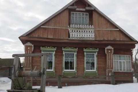Дом Инны Дмитриевой, который последним посетила чупакабра.