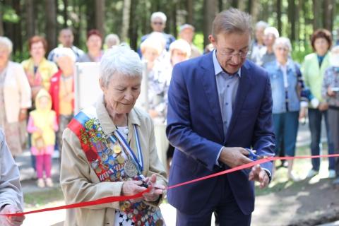 В Ивановской области открылась первая многофункциональная спортивная зона для старшего поколения