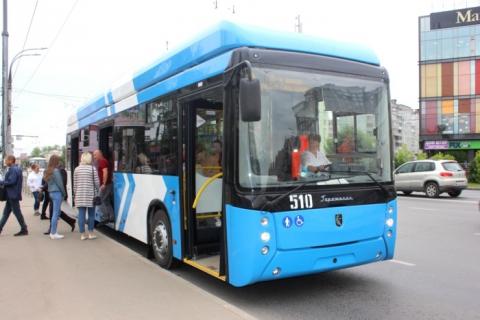 В Иваново прибыли три новых троллейбуса