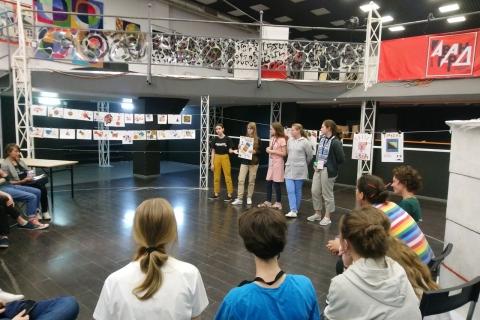 В Центре Авангарда в Иванове снимают мультфильм по мотивам агиттекстиля