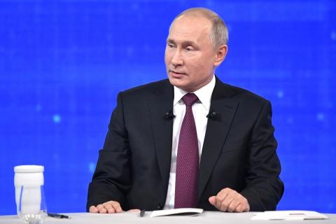 Владимир Путин ответил на вопрос Дарьи Рогозиной из Иванова