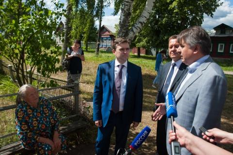В Шуйском районе газифицируют села Фатьяново и Высоково